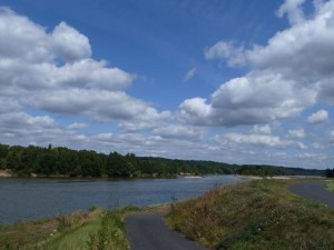 Bicycling along the Loire doesn't get any better than this!